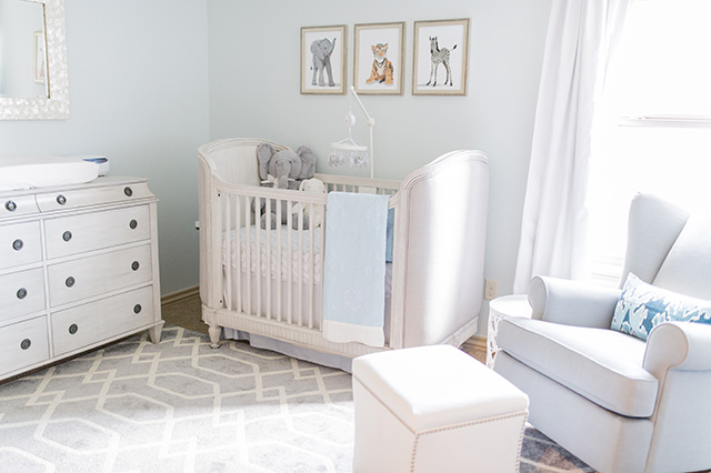 The Peak Of Tr 232 S Chic Nursery Design Reveal