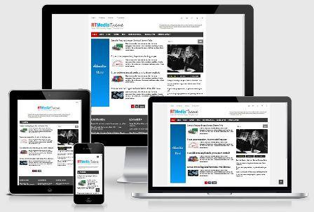 Rt Media Theme Seo Responsive Blogger Template