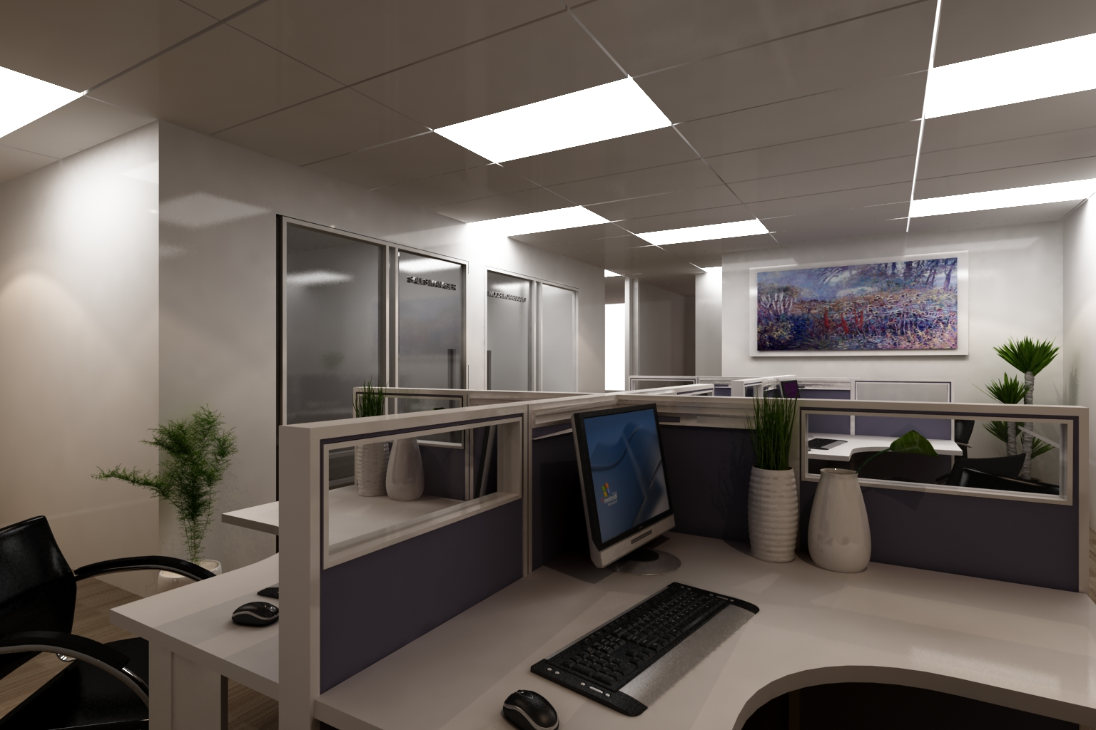 Create in your dream home 3d office design for Dream house 3d