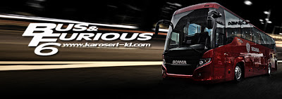 Bus & Furious 6 - Karoseri Indonesia