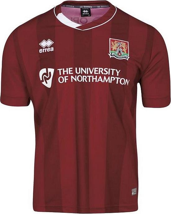 5508d906e3 Errea divulga novas camisas do Northampton Town - Show de Camisas