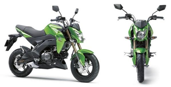 Spesifikasi Kawasaki Z125 Pro Terkini di Tahun 2016