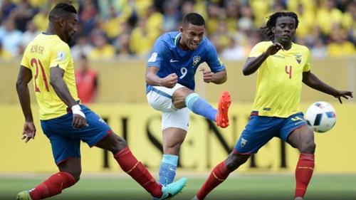 Brasil joga bem e faz 3 a 0 sobre o Equador