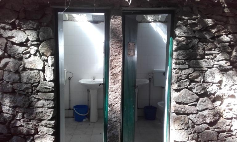 Sanitários de banho da Cabreia