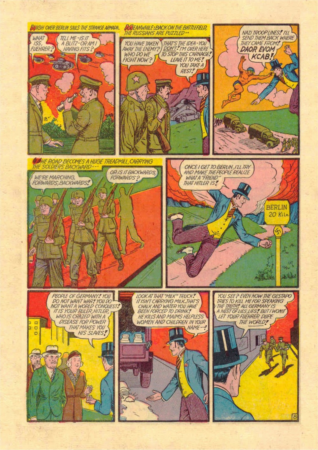 Read online Action Comics (1938) comic -  Issue #46 - 63