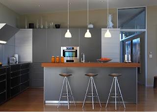 Modelo cocina gris