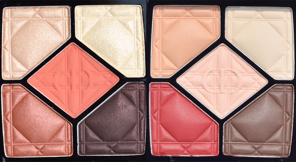 dior 5 couleurs eyeshadow palette quint swatches review exalt inflame
