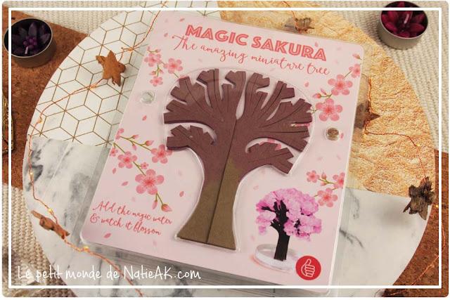 Magic Sakura : test de l'arbre magique