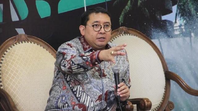 Fadli Zon Minta Dana Awal Kampanye Jokowi-Ma'ruf Diwaspadai