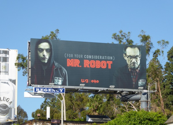 Mr Robot season 2 consideration billboard