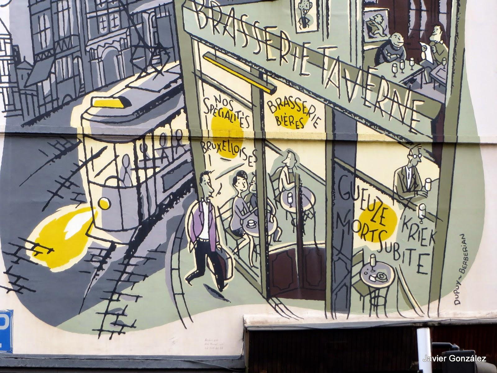 Bruselas. Mural