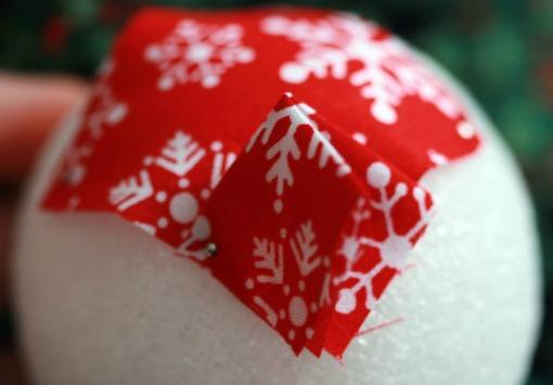 bolas de natal artesanais