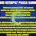 Doa Hari Ke-4 (Keempat) Puasa Ramadhan 1438 Hijriah