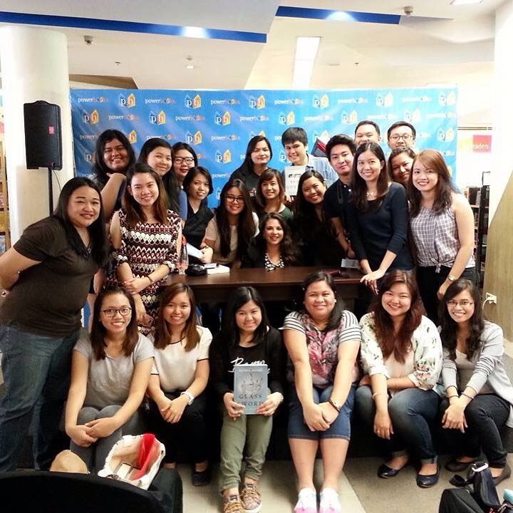 PH YA Book Bloggers with Victoria Aveyard