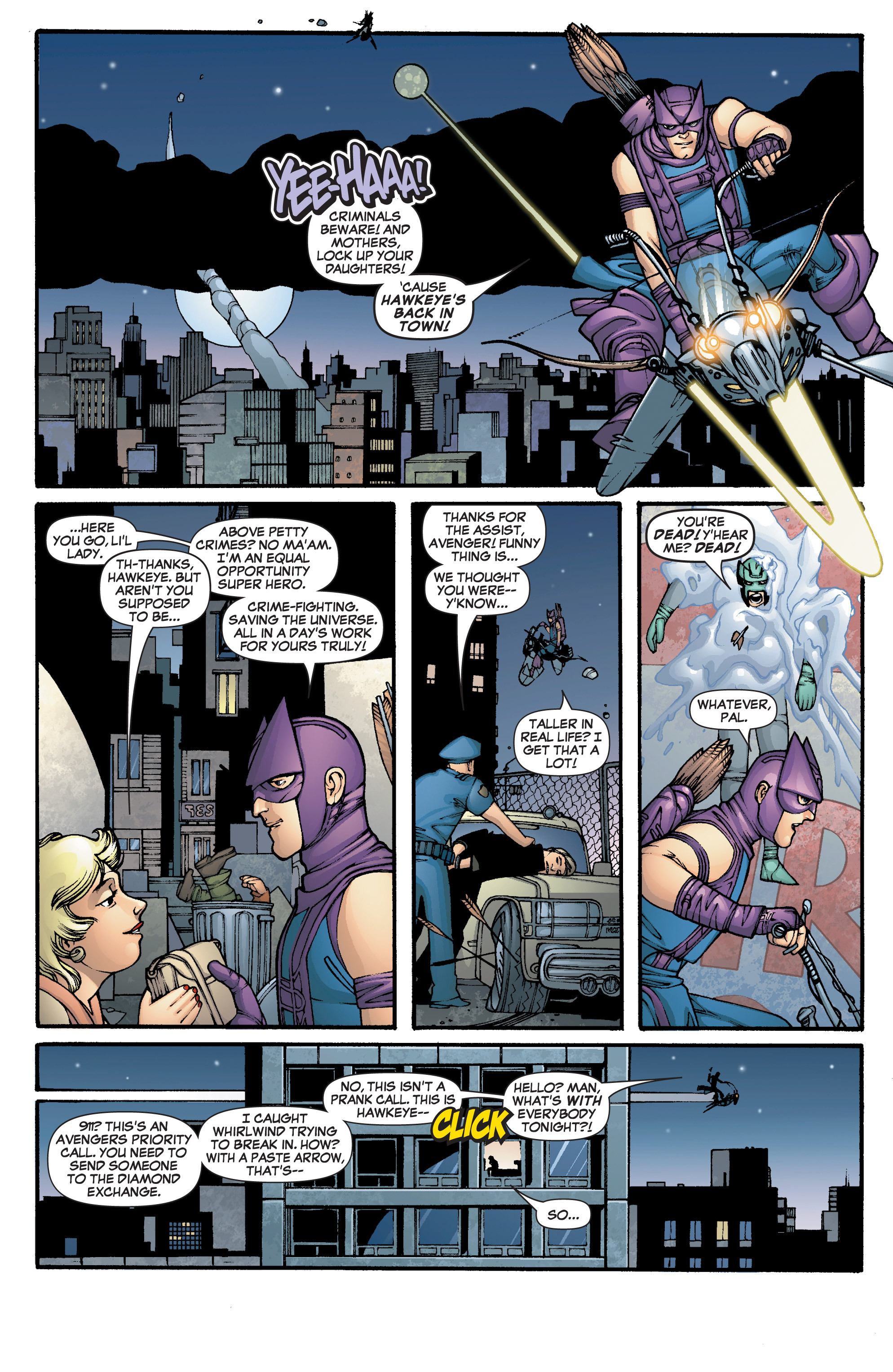 Read online She-Hulk (2005) comic -  Issue #2 - 3