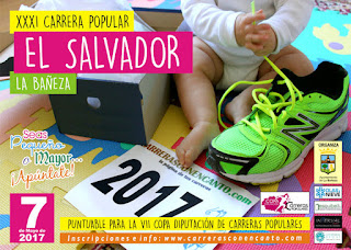 Clasificaciones Carrera El Salvador 2017