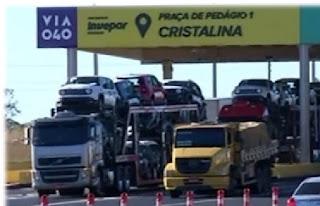moradores de Cristalina protestam novamente contra cobrança de pedágio