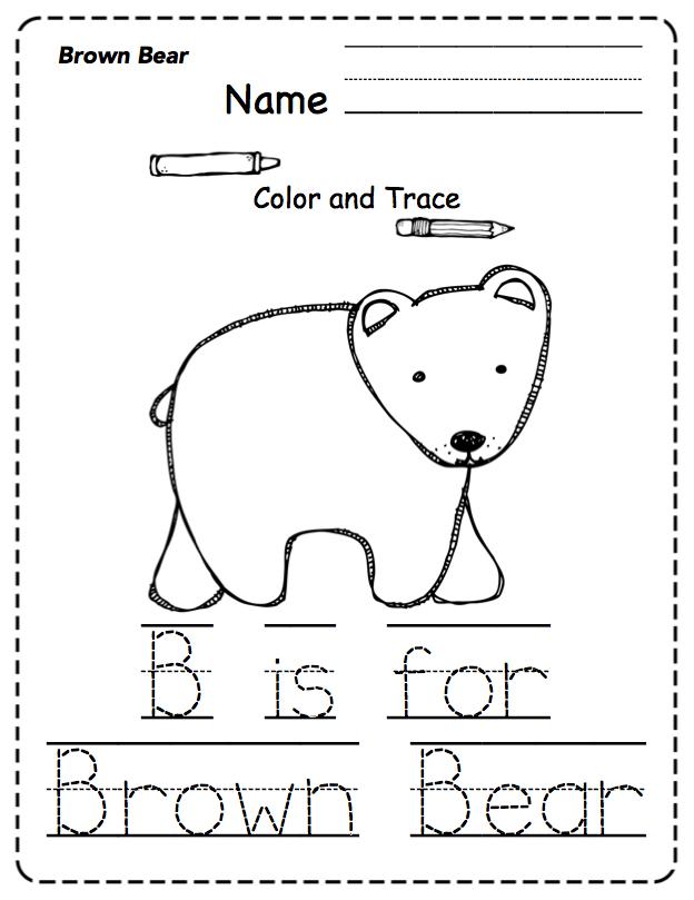 "Preschool Packet ""Brown Bear Combo"" ~ Preschool Printables"