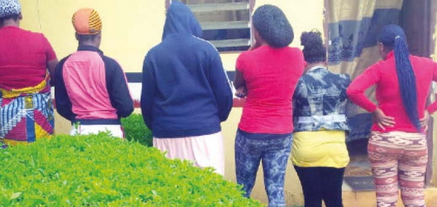 Underage Prostitutes Arrested In Akure Ondo State