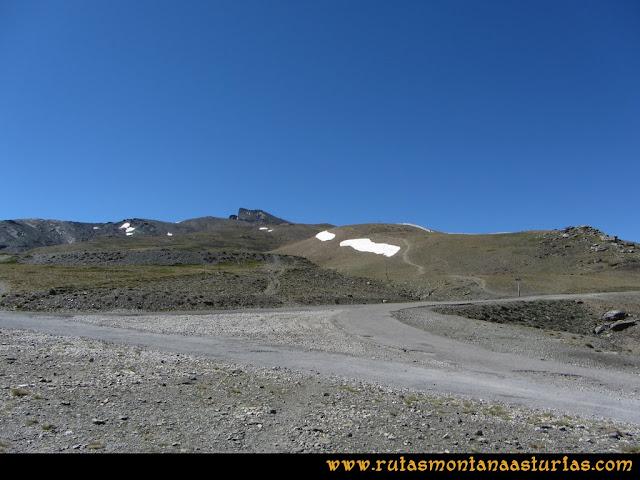 Ruta Hoya de la Mora - Veleta: Camino al Veleta