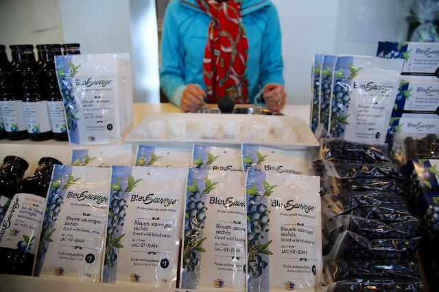 wild blueberries, marche du vieux port, quebec city, canada