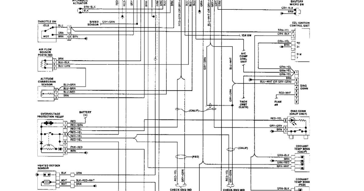 on 1988 Jeep Cherokee Cooling Fan Wiring Diagram