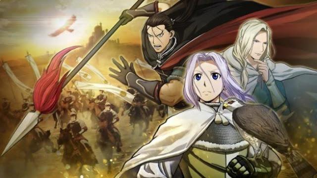 Arslan Senki - Anime Action Fantasy Terbaik dan Terseru