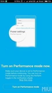 Cara Mengaktifkan (Meningkatkan) Performance Xiaomi Redmi 3 & Xiaomi Redmi Pro