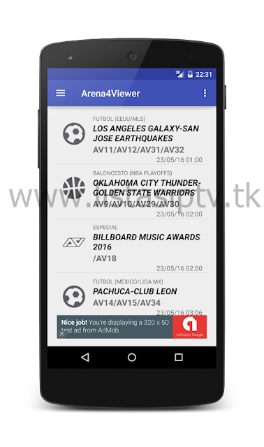 Arena4Viewer 1.45 - Apk - Live Events Acestream e Sopcast on Android