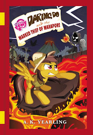 MLP Daring Do and the Marked Thief of Marapore Book Media
