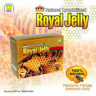 Royal Jelly Pengobatan Stroke Nasa