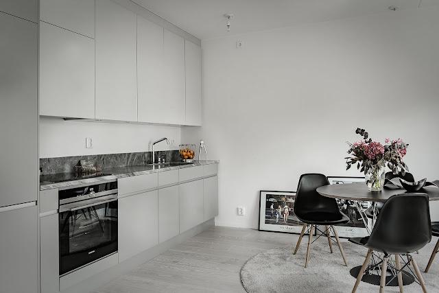 Light and elegant nordic interior