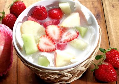 Resep Membuat Es Sop Buah Segar Enak Sekali