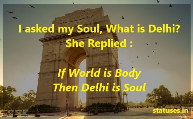 Single Line Quotes and Whatsapp Status on Delhi