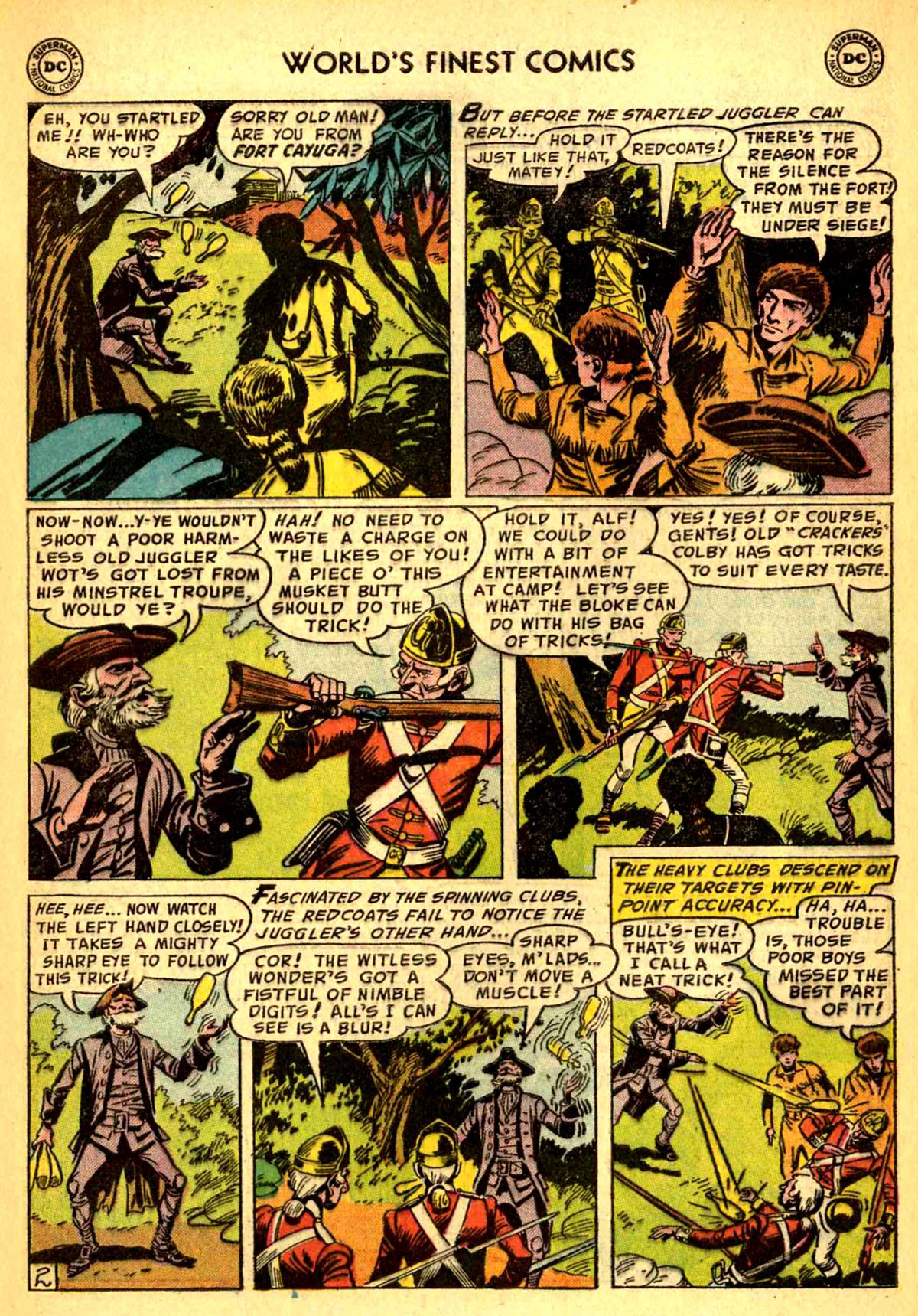 Read online World's Finest Comics comic -  Issue #77 - 29