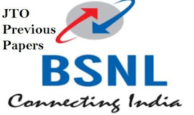 BSNL JTO junior telecom officer previous year question papers