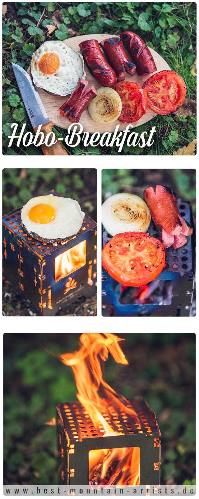 Outdoor Kitchen  Frühstück aus der Bushbox