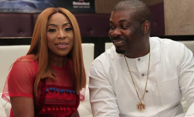 Don Jazzy finally steps out with his love for Valentine! (Photo)