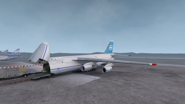 ats real plane livery for antonov at albuquerque airport screenshots 3
