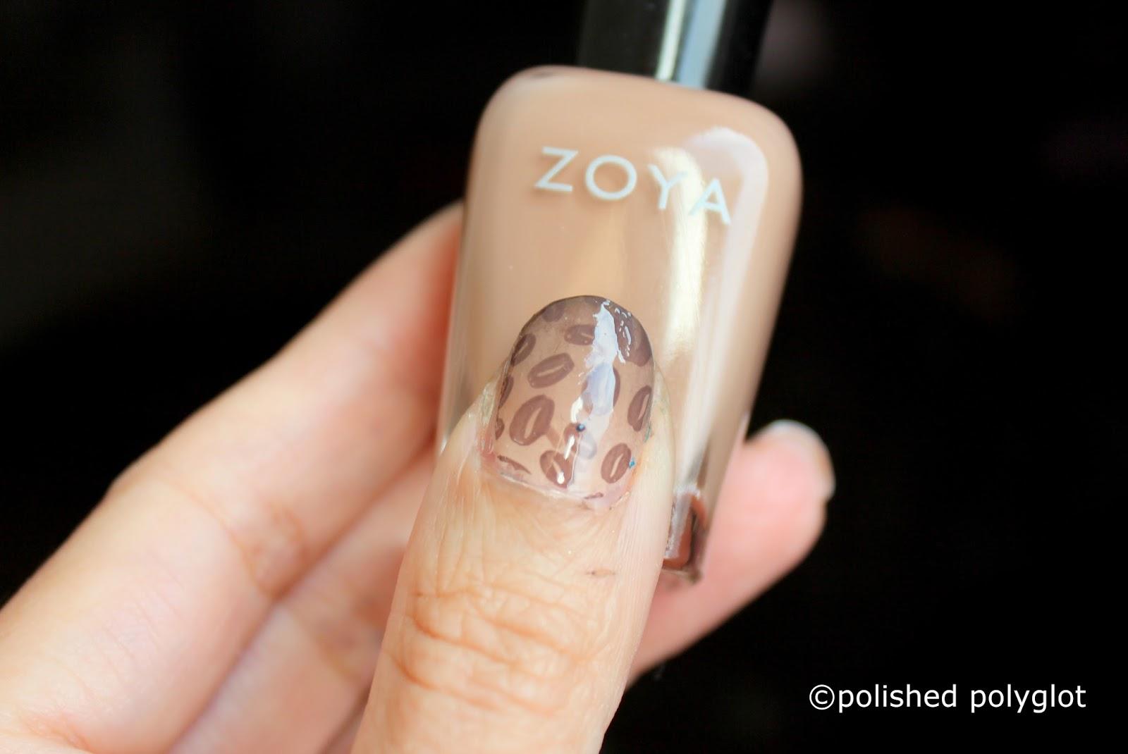 Nail Art │ Neutral colors coffee nails [Nail Crazies Unite ...