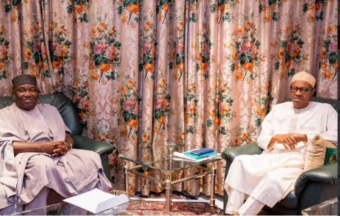 Photos: President Buhari Meets With Governor Ugwuanyi Over Fulani Terror Attack In Enugu