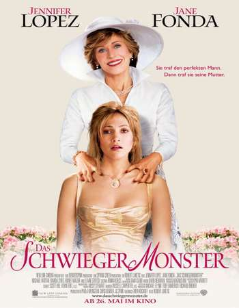 Poster Of Monster-in-Law 2005 Dual Audio 350MB Web-DL 720p HEVC Free Download Watch Online Worldfree4u