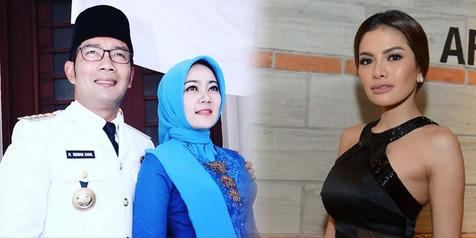 Istri Ridwan Kamil Lindungi Sang Suami Dari Nikita Mirzani