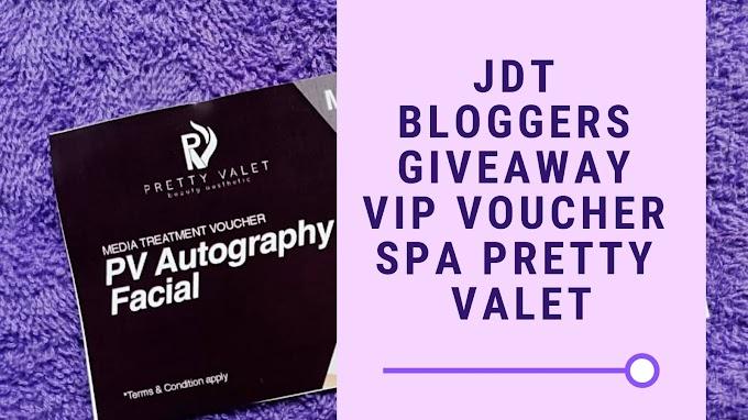 Siapa Nak Voucher VIP Spa Pretty Valet!!
