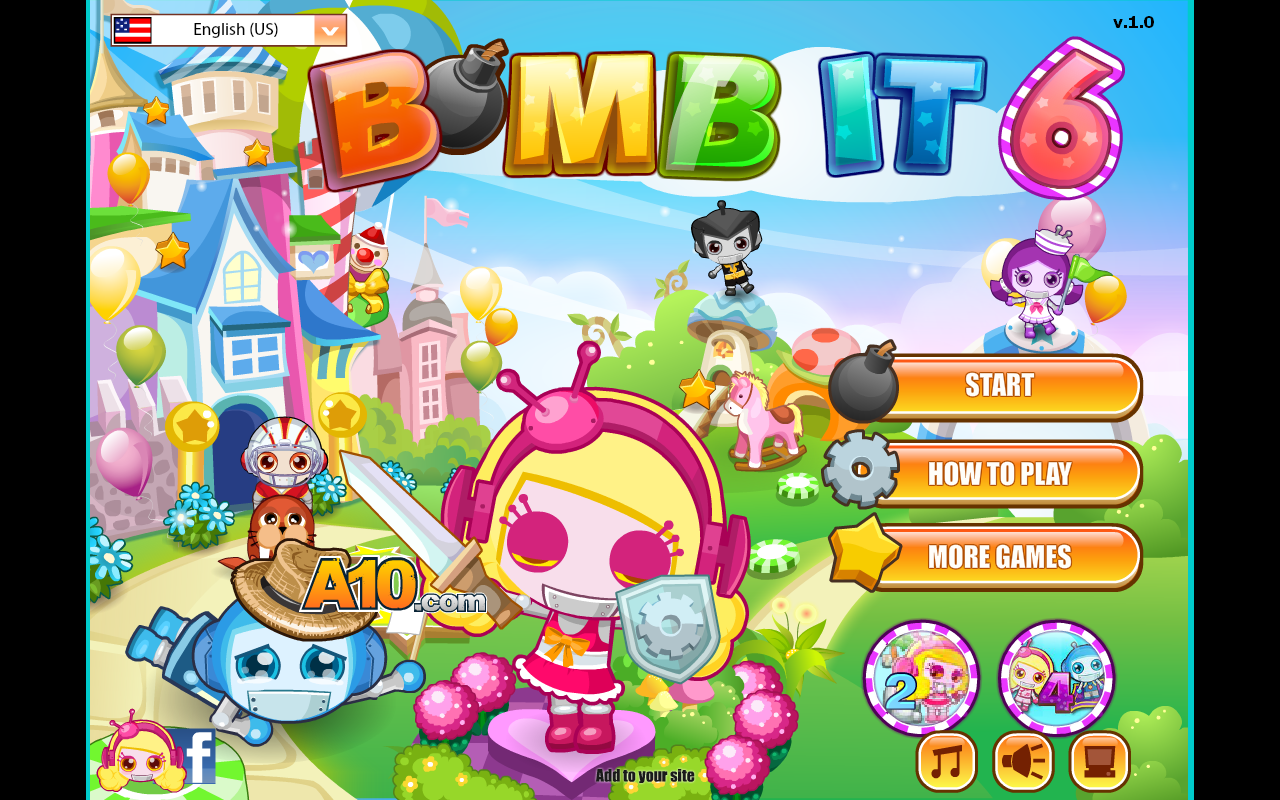 Bomb it! Online game.