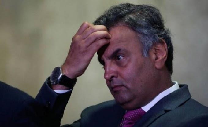 POLITICA:  STF bloqueia R$ 1,7 milhão em bens de Aécio Neves.