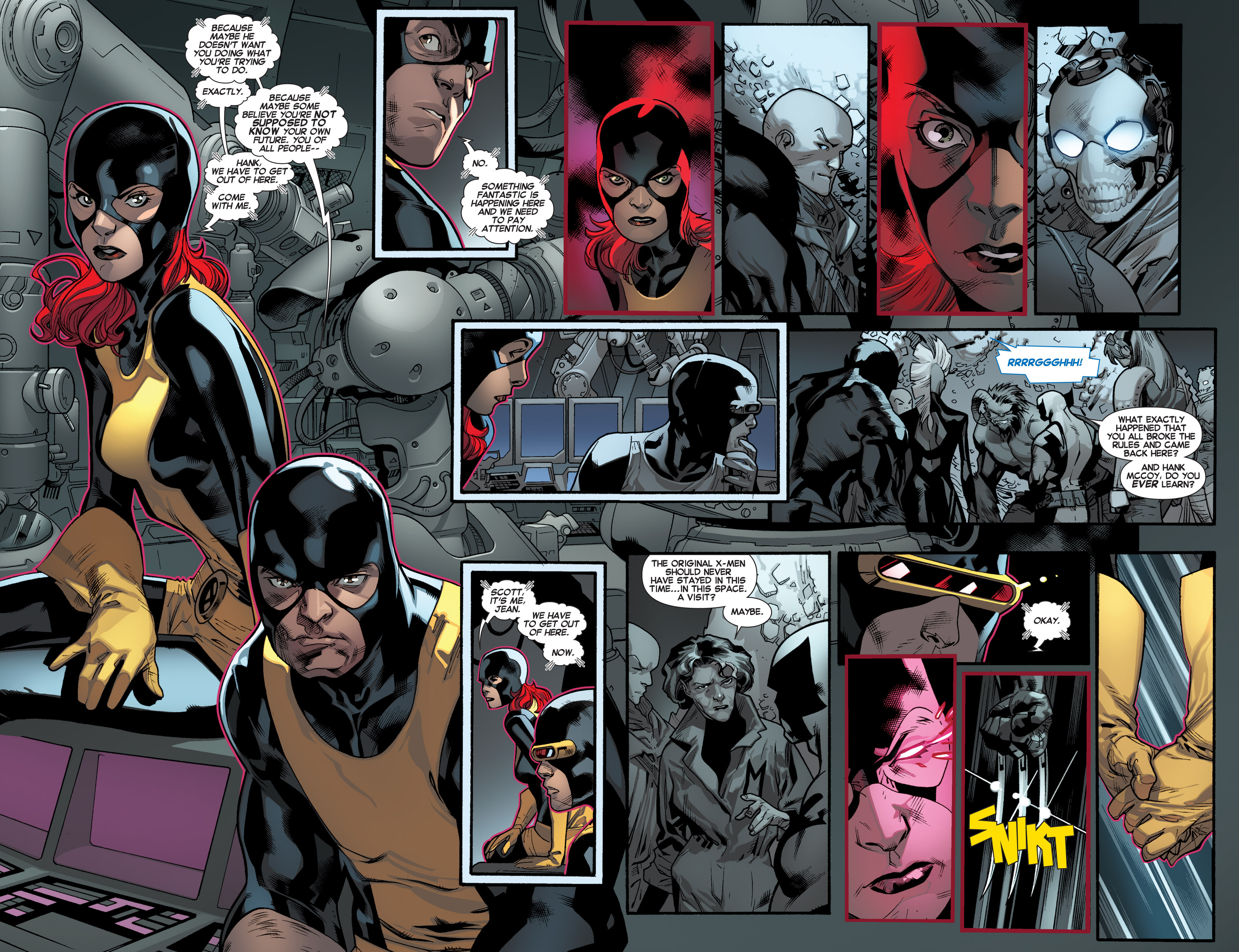 Read online All-New X-Men (2013) comic -  Issue #16 - 11