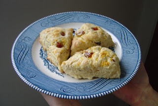 Small plate of my orange scones.jpeg