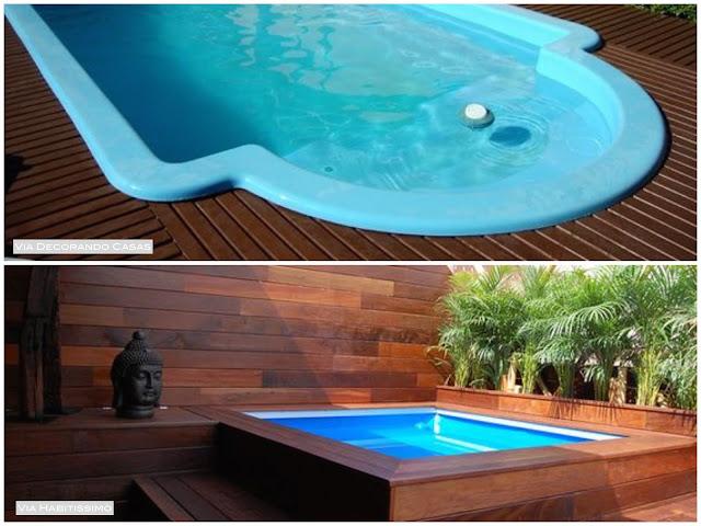 como construir uma piscina em casa