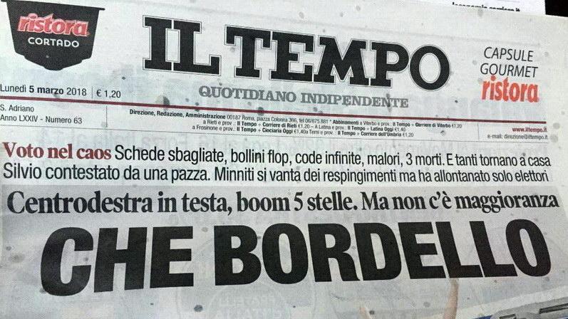 Κακά μαντάτα (και) από την Ιταλία...